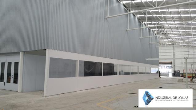 Industrial de lonas monterrey for Muro de separacion jardin